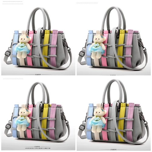 B2725 MATERIAL PU SIZE L27XH17XW13CM WEIGHT 850GR COLOR LIGHTGRAY