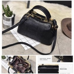 B2737 MATERIAL PU SIZE L31XH19XW14CM WEIGHT 850GR COLOR BLACK