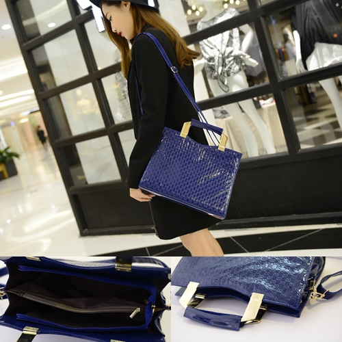 B275 - Harga sebelum Diskon IDR.175.000 MATERIAL PU SIZE L30 32XH25XW13CM WEIGHT 750GR COLOR BLUE