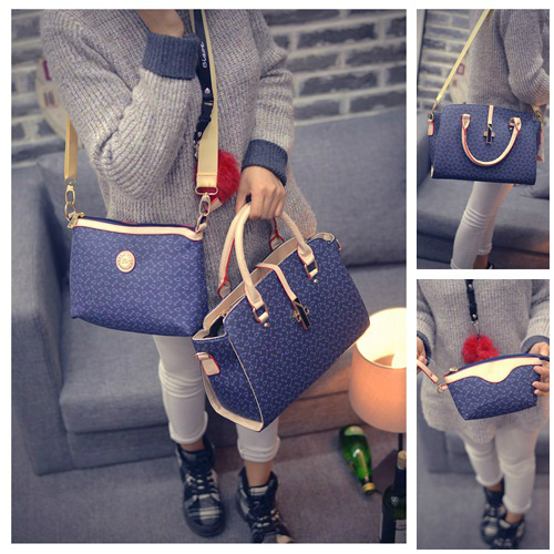B27516 (3in1) - Harga sebelum Diskon IDR.205.000 MATERIAL PU SIZE L38XH24XW13CM WEIGHT 1000GR COLOR BLUE