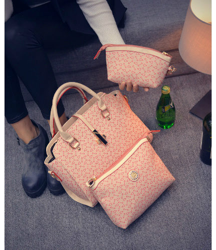 B27516 (3in1) - Harga sebelum Diskon IDR.205.000 MATERIAL PU SIZE L38XH24XW13CM WEIGHT 1000GR COLOR PINK