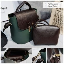 B2777 MATERIAL PU SIZE L22XG24XW14CM WEIGHT 600GR COLOR GREEN