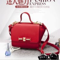 B2786 MATERIAL PU SIZE L22XH19XW13CM WEIGHT 600GR COLOR RED