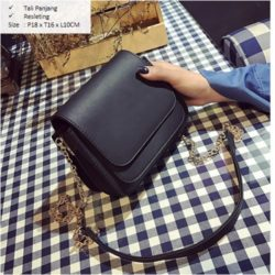 B2865 MATERIAL PU SIZE L18XH16XW10CM WEIGHT 600GR COLOR BLACK