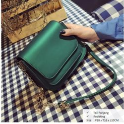 B2865 MATERIAL PU SIZE L18XH16XW10CM WEIGHT 600GR COLOR GREEN