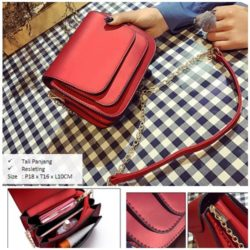 B2865 MATERIAL PU SIZE L18XH16XW10CM WEIGHT 600GR COLOR RED