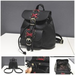 B29203 MATERIAL PU SIZE L26XH22XW18CM WEIGHT 700GR COLOR BLACK