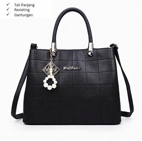 B2935 MATERIAL PU SIZE L30XH22XW13CM WEIGHT 800GR COLOR BLACK