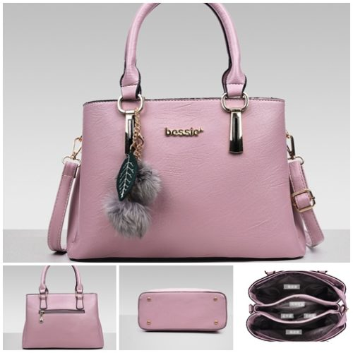B3306 MATERIAL PU SIZE l30XH21XW13CM WEIGHT 900GR COLOR PINK