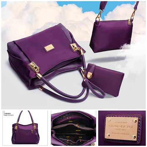 B3316 MATERIAL NYLON SIZE L30XH23XW9CM WEIGHT 1000GR COLOR PURPLE