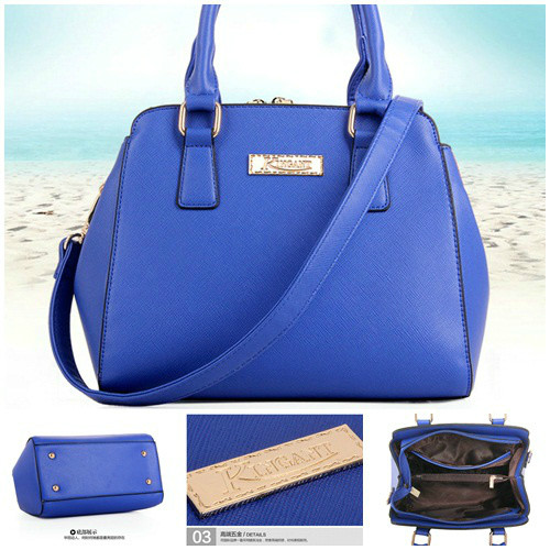 B459 - Harga sebelum Diskon IDR.198.000 MATERIAL PU SIZE L25XH21XW13CM WEIGHT 800GR COLOR BLUE