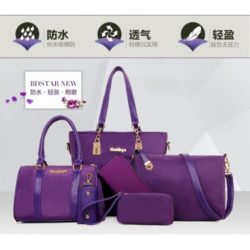 B580 MATERIAL NYLON SIZE L29XH27XW12CM WEIGHT 1200GR COLOR PURPLE