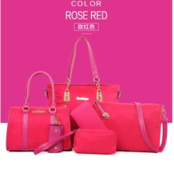B580 MATERIAL NYLON SIZE L29XH27XW12CM WEIGHT 1200GR COLOR ROSE