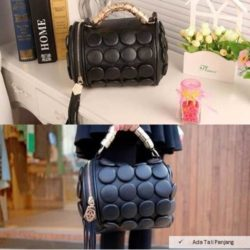 B591 MATERIAL PU SIZE L20XH18CM WEIGHT 650GR COLOR BLACK