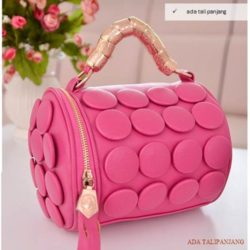 B591 IDR.160.000 MATERIAL PU SIZE L20XH18CM WEIGHT 650GR COLOR ROSE