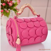 B591 MATERIAL PU SIZE L20XH18CM WEIGHT 650GR COLOR ROSE