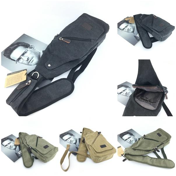 Jual B6003-black Sling Bag Unisex Import - GrosirImpor.com
