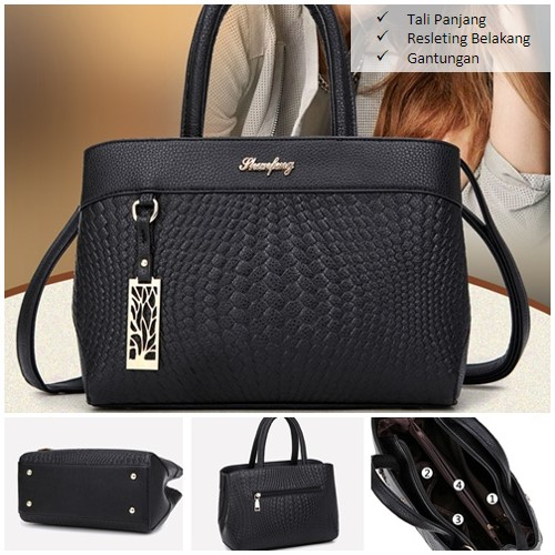 B6005 MATERIAL PU SIZE L27XH20XW14CM WEIGHT 800GR COLOR BLACK