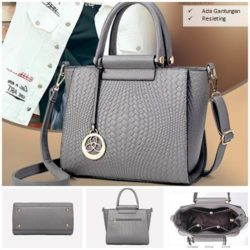 B60070 MATERIAL PU SIZE L26XH32XW11CM WEIGHT 800GR COLOR GRAY
