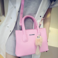 B6233 - Harga sebelum Diskon IDR.165.000 MATERIAL PU SIZE L25XH18XW12CM WEIGHT 650GR COLOR PINK