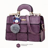 B632 MATERIAL PU SIZE L32XH22XW13CM WEIGHT 900GR COLOR PURPLE