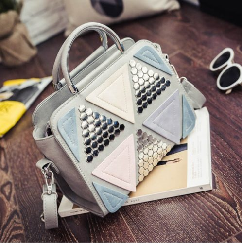 B6507 MATERIAL PU SIZE L26XH21XW11CM WEIGHT 650GR COLOR GRAY
