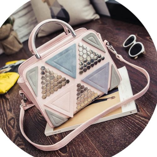 B6507 MATERIAL PU SIZE L26XH21XW11CM WEIGHT 650GR COLOR PINK