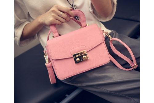 B7005 MATERIAL PU SIZE L21XH15XW7CM WEIGHT 650GR COLOR PINK