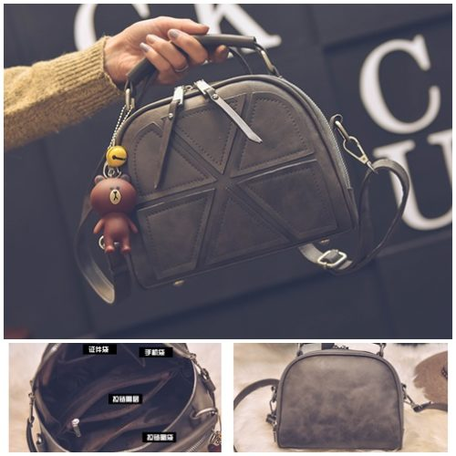 B7121 MATERIAL PU SIZE L22XH18XW11CM WEIGHT 600GR COLOR GRAY