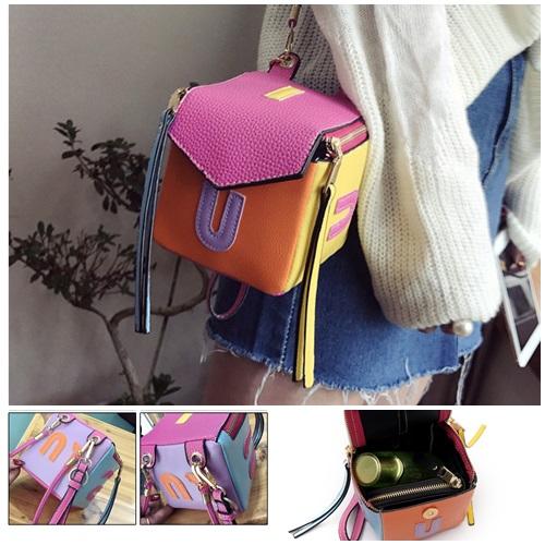 Jual B7209 Rose Tas Mini Trendy