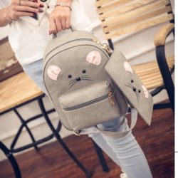 B7861 MATERIAL PU SIZE L21XH31XW10CM WEIGHT 600GR COLOR GRAY