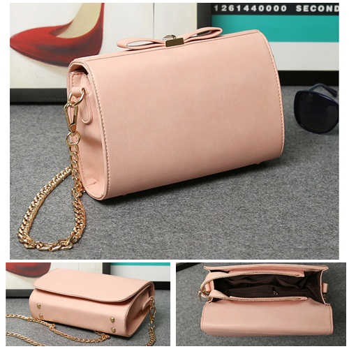 B8008 - Harga sebelum Diskon IDR.159.000 MATERIAL PU SIZE L23XH15XW7CM WEIGHT 700GR COLOR PINK