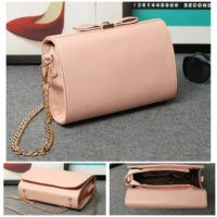 B8008 IDR.159.000 TAS FASHION MATERIAL PU SIZE L23XH15XW7CM WEIGHT 700GR COLOR PINK