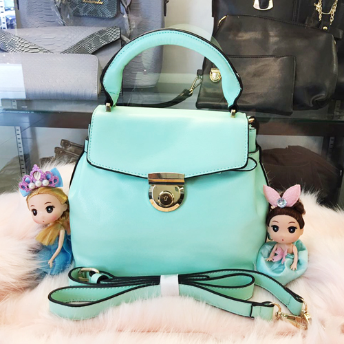 B828 MATERIAL PU SIZE L25XH23XW13CM WEIGHT 650GR COLOR GREEN