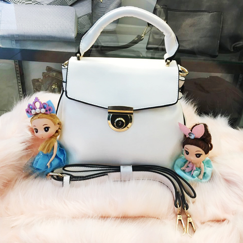 B828 MATERIAL PU SIZE L25XH23XW13CM WEIGHT 650GR COLOR WHITE