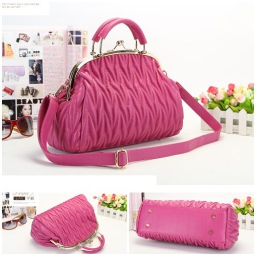 B848 MATERIAL PU SIZE L33XH19XW13CM WEIGHT 800GR COLOR ROSE