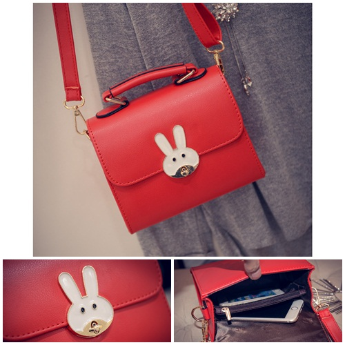 B8606 MATERIAL PU SIZE L18XH15XW8CM WEIGHT 550GR COLOR RED