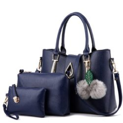 B863 MATERIAL PU SIZE L33XH25XW14CM WEIGHT 1000GR COLOR DARKBLUE