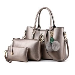 B863 MATERIAL PU SIZE L33XH25XW14CM WEIGHT 1000GR COLOR SILVER