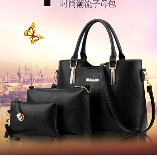 B866 (3in1) MATERIAL PU SIZE L33XH23XW13CM WEIGHT 1100GR COLOR BLACK