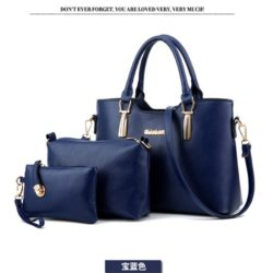 B866 (3in1) MATERIAL PU SIZE L33XH23XW13CM WEIGHT 1100GR COLOR BLUE