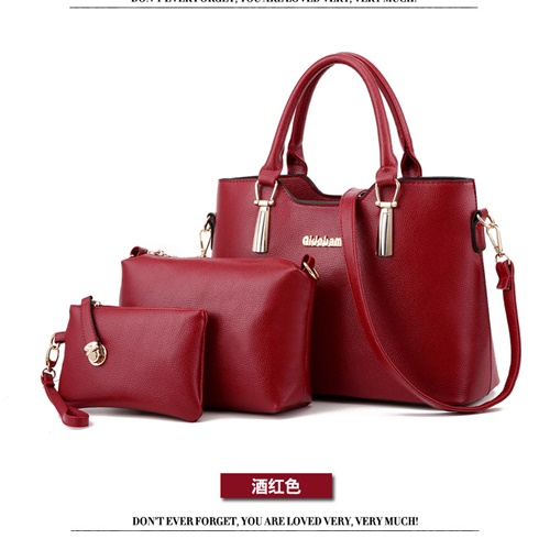 B866 (3in1) MATERIAL PU SIZE L33XH23XW13CM WEIGHT 1100GR COLOR RED