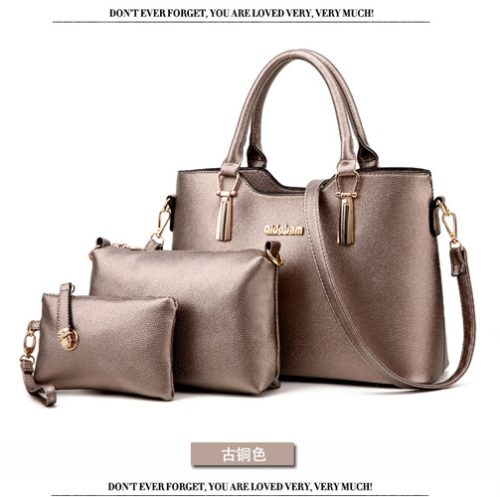 B866 (3in1) MATERIAL PU SIZE L33XH23XW13CM WEIGHT 1100GR COLOR SILVER