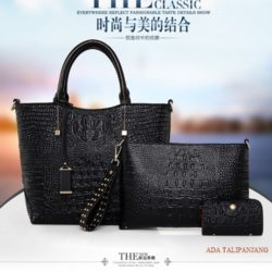 B879 (3in1) MATERIAL PU SIZE L26XH26XW12CM WEIGHT 1100GR COLOR BLACK