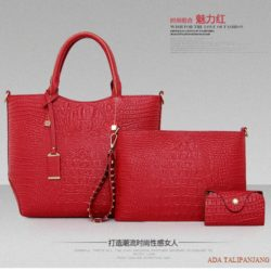 B879 (3in1) MATERIAL PU SIZE L26XH26XW12CM WEIGHT 1100GR COLOR RED