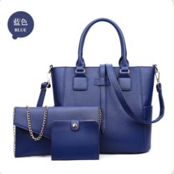 B8816 MATERIAL PU SIZE L34XH26XW14CM WEIGHT 1000GR COLOR BLUE