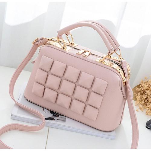 Jual B8866 Pink Tas Fashion Import Modis