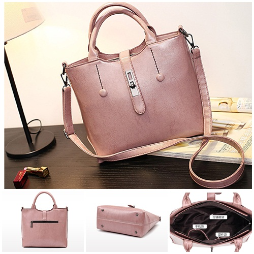 B8946 IDR.192.000 MATERIAL PU SIZE L30XH24XW13CM WEIGHT 800GR COLOR PINK