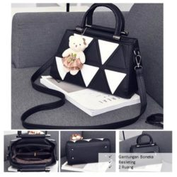 B912 MATERIAL PU SIZE L28XH20XW14CM WEIGHT 800GR COLOR BLACK
