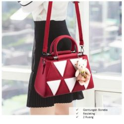 B912 MATERIAL PU SIZE L28XH20XW14CM WEIGHT 800GR COLOR RED